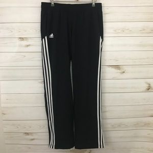 Men's Adidas Black Pants, Size Medium